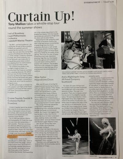 Scarlet Gabriel, press, media, Actress Hackney, London24